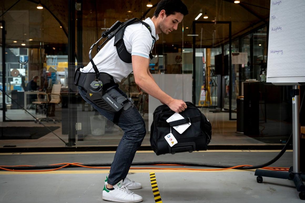 Pre-tec / Ottobock passive back exoskeleton