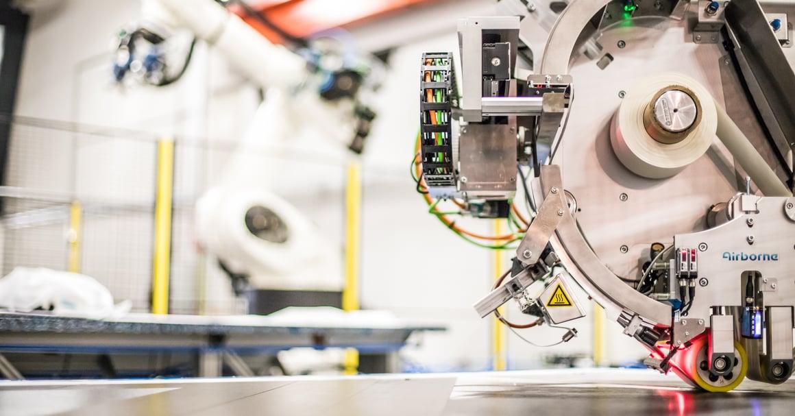 robot in fabriek