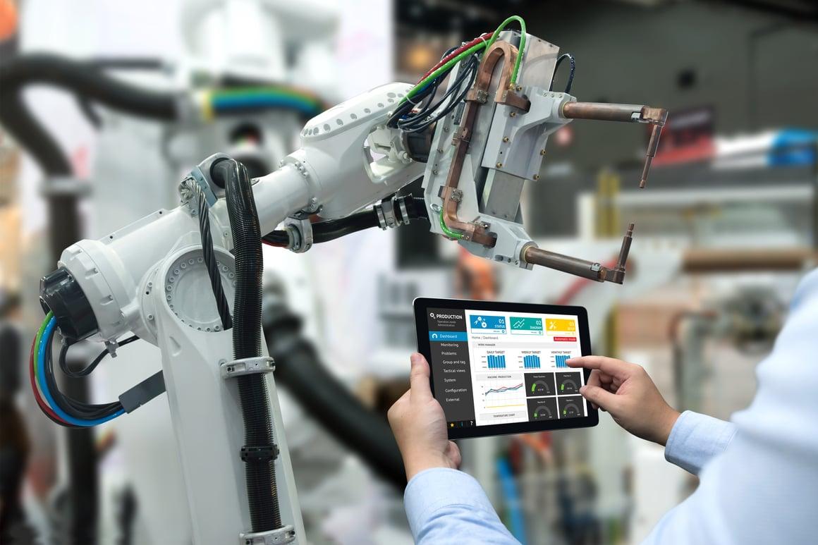productieomgeving digitaliseren